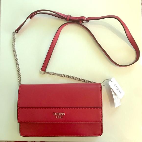 Authentic Guess cross body purse 801d35630e732
